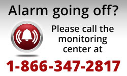 Alarm going off? Call 866-347-2817