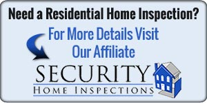 Residential Home Inspections from Security Home Inspections